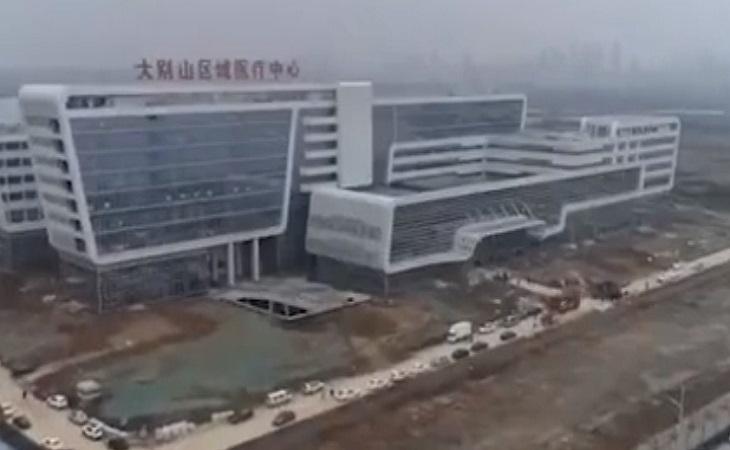 Управились за 48 часов: посмотрите, какую больницу построили в Китае для зараженных коронавирусом