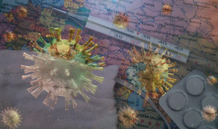 РФ  угодила  втройку лидеров пораспространению коронавируса