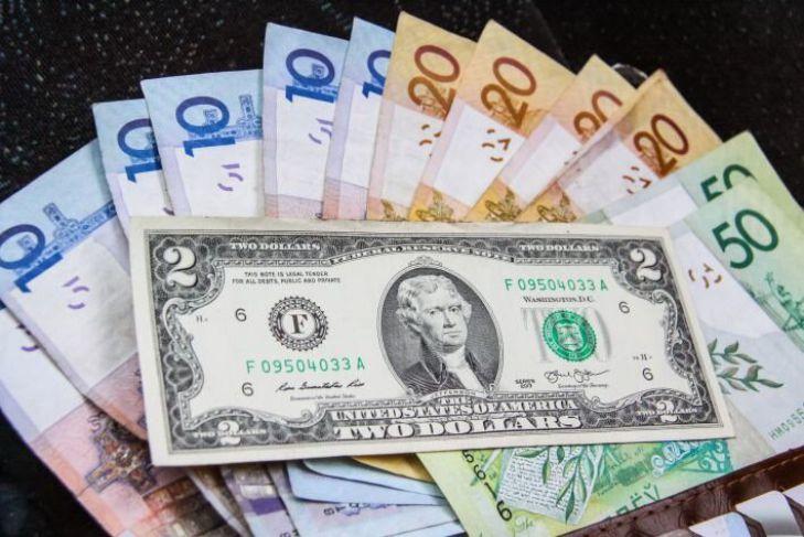 Падение белорусского рубля замедлилось курсы валют