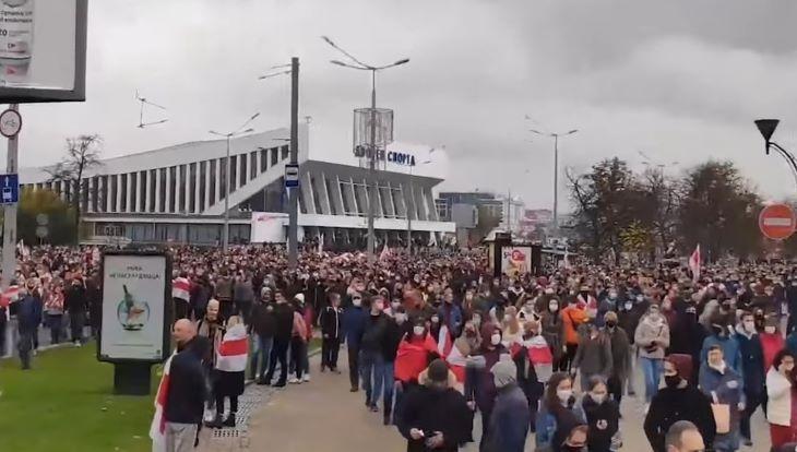 В Евросоюзе считают, что белорусы имеют право на забастовку
