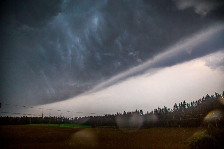 Николаевские синоптики дали прогноз на выходные, сегодня местами может пройти сильный дождь