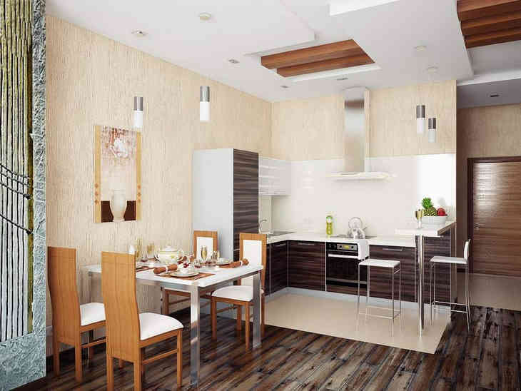 The Best 75 For Small Kitchen Dining Room Combo Free PDF