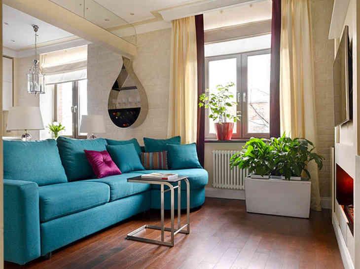 Дизайн небольшой квартиры в сталинке - как превратить бывшую.