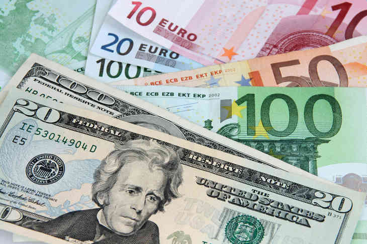 евро и доллар фото