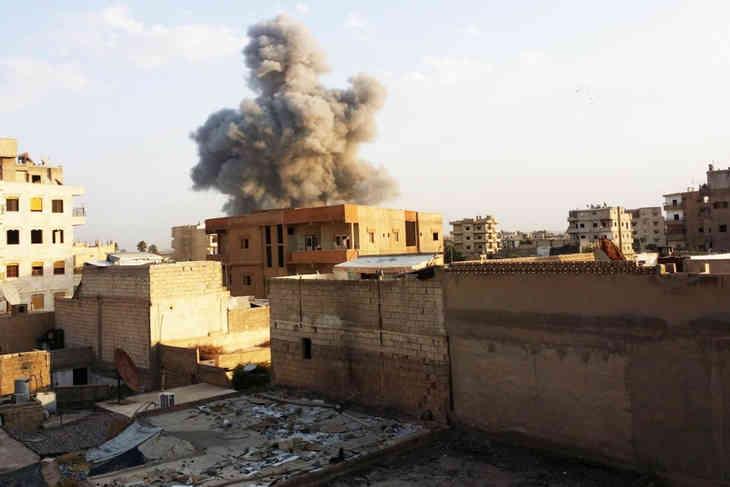 СМИ рассказали о крупном успехе сирийских повстанцев в боях с ИГИЛ