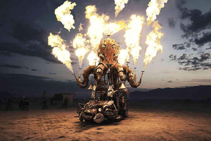 фестиваль burning man 2016 фото