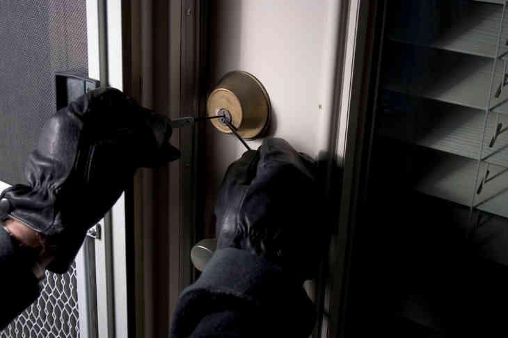 Курские полицейские задержали серийного вора