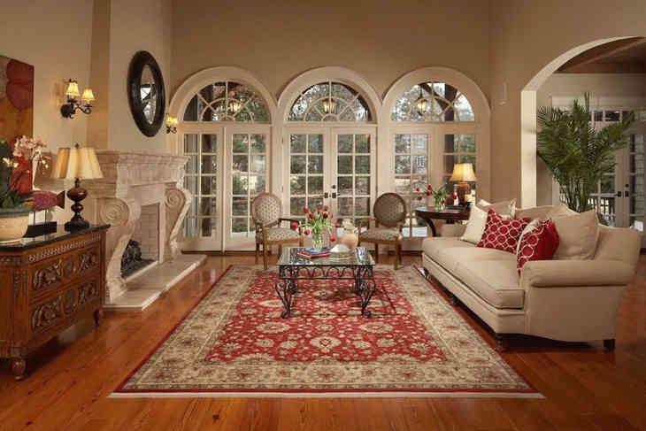 Картинки по запросу восточные ковры в интерьере