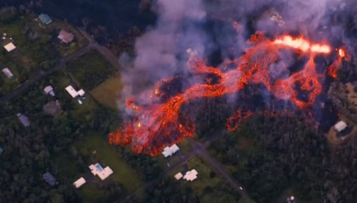 Извержение вулкана Килауэа: Началась эвакуация острова