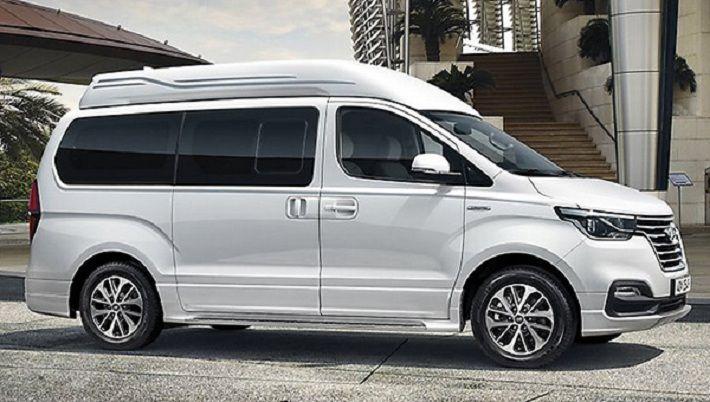 Минивэн Hyundai Grand Starex превратили в роскошный лимузин