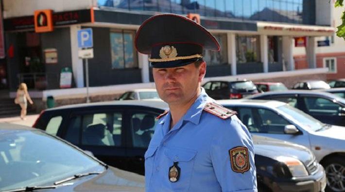 В Гомеле милиционер на ходу остановил автомобиль с пьяным водителем