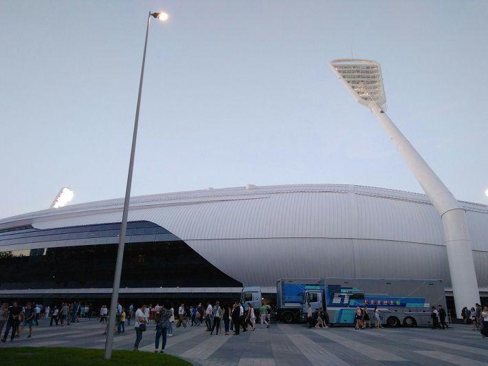 Белорусские легкоатлеты победили в матчевой встрече на минском стадионе «Динамо»