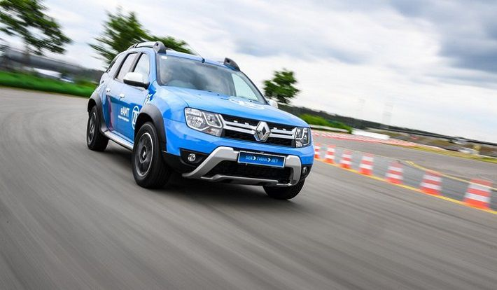 Zf Showed A Hybrid Crossover Renault Duster