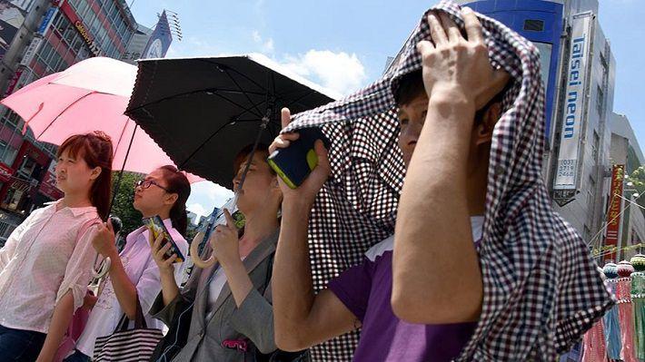 В Японии за день жара убила 13 человек