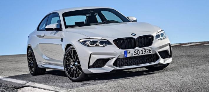 Стали известны цены нового BMW M2 Competition