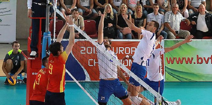 Белорусские волейболисты обыграли испанцев в отборе к ЧЕ-2019