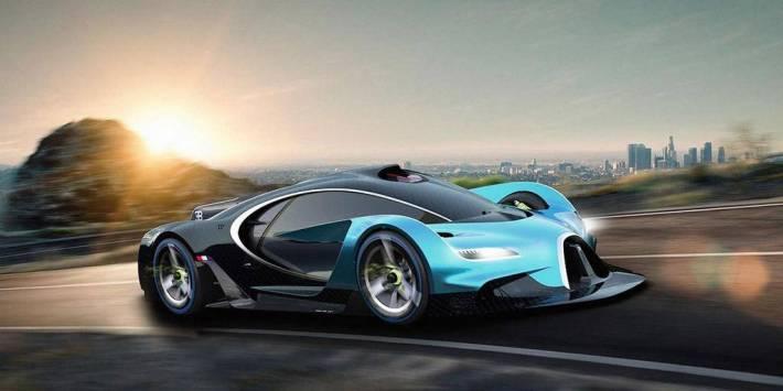 Bugatti на тизере показала силуэт гиперкара Bugatti Divo за 5 млн евро