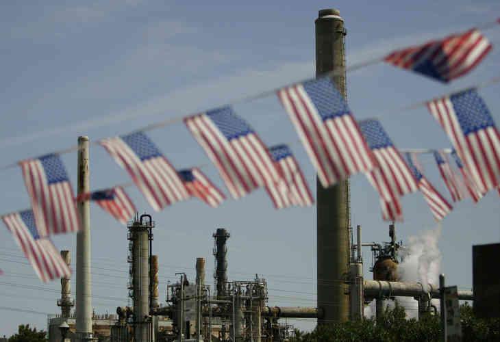 США впервые за45 лет стали лидером нефтедобычи