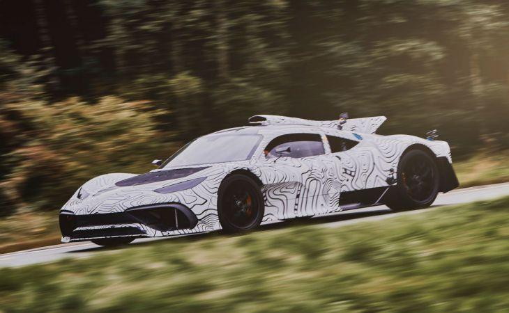 Компания Mercedes вывела натесты гиперкар Project ONE