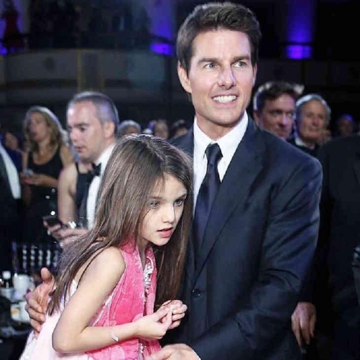 Том Круз на100% отказался отобщения сединственной дочерью,