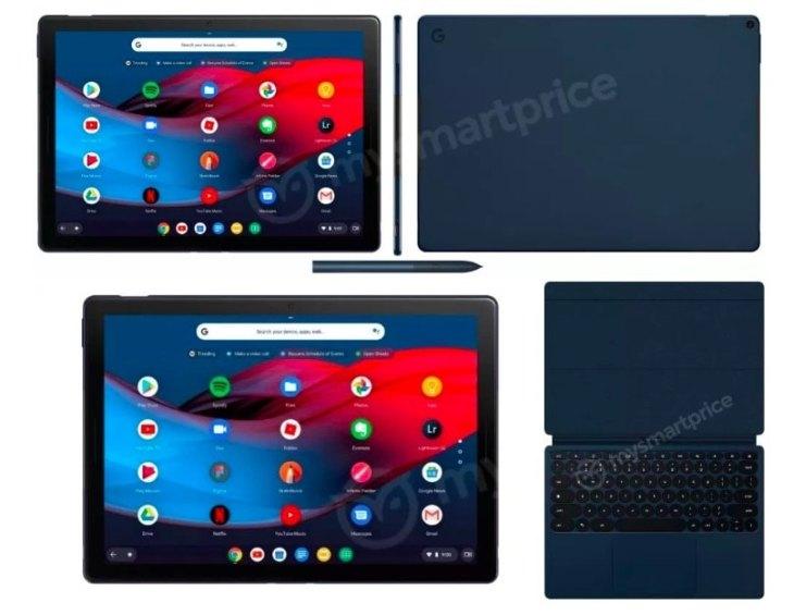 Планшет Google Pixel Slate сChromeOS засветился нафотографиях накануне презентации