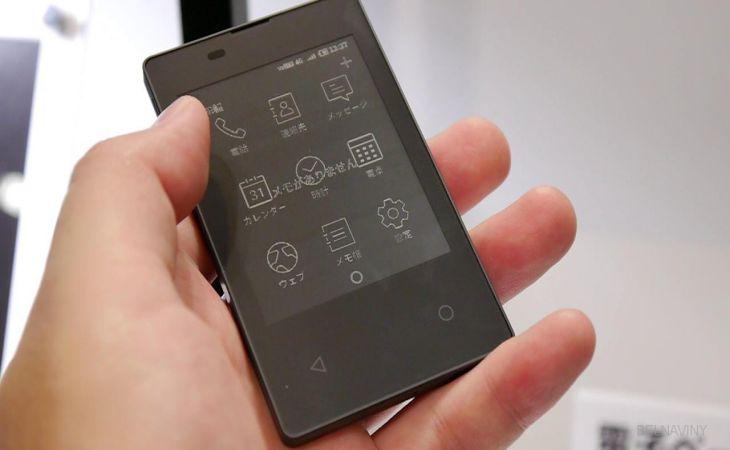 Японский производитель представил смартфон размером скредитку— NewRetail