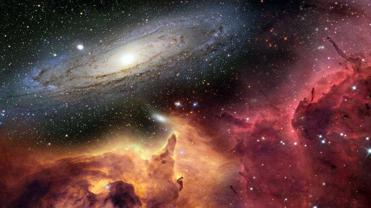 Ученые обнаружили огромную структуру вранней Вселенной— Hi-Tech Mail.Ru