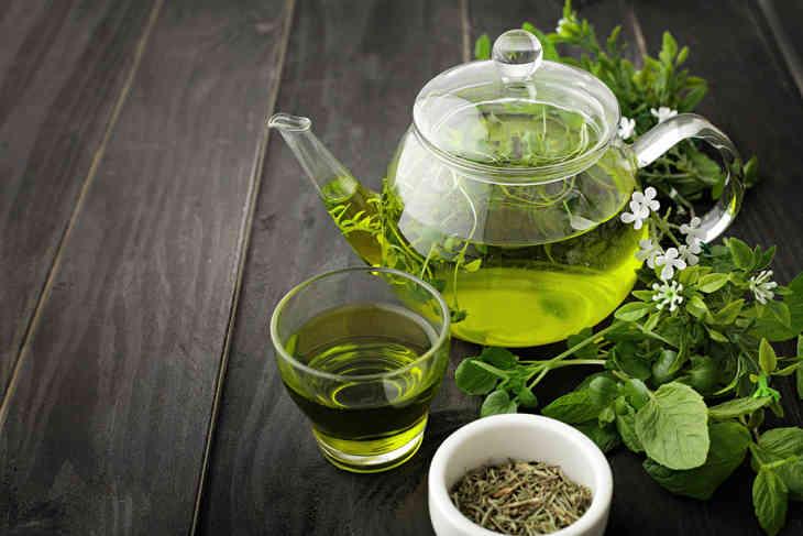 проект про зеленый чай