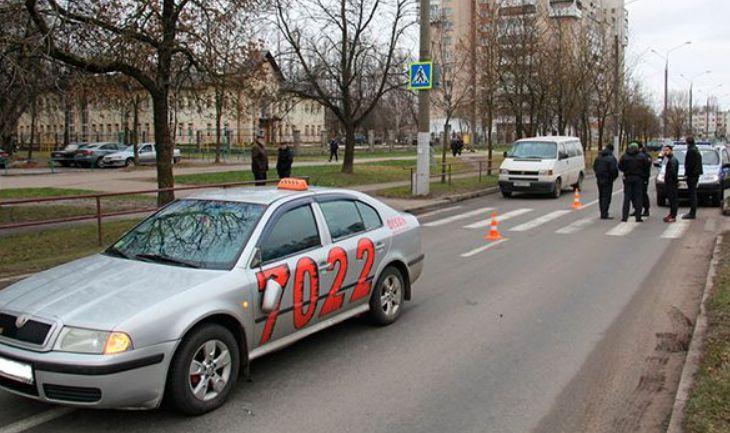Водитель такси в Витебске сбил пенсионера на переходе