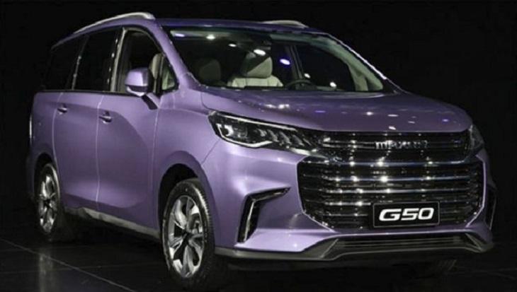 SAIC в КНР представила новый бюджетный минивэн Maxus G50