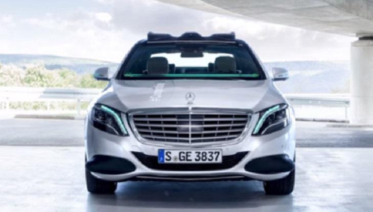 Benz делает систему для «общения» беспилотников слюдьми