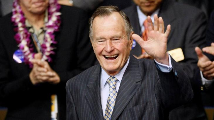 ВСША объявят национальный траур из-за смерти Буша-старшего
