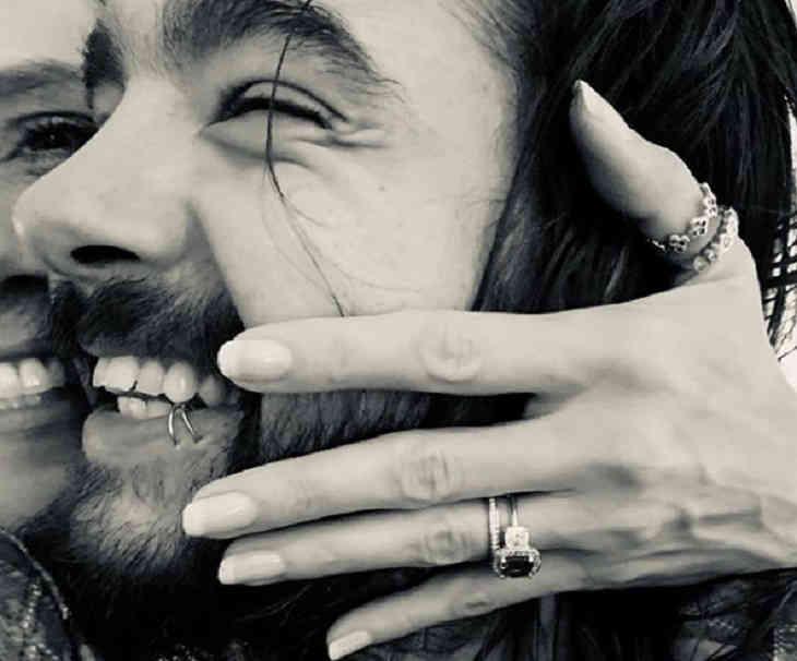 Хайди Клум дала согласие выйти замуж зазначительно меньшего гитариста Tokio Hotel