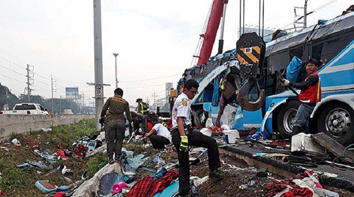 Вперевернувшемся вТаиланде автобусе стуристами небыло граждан России