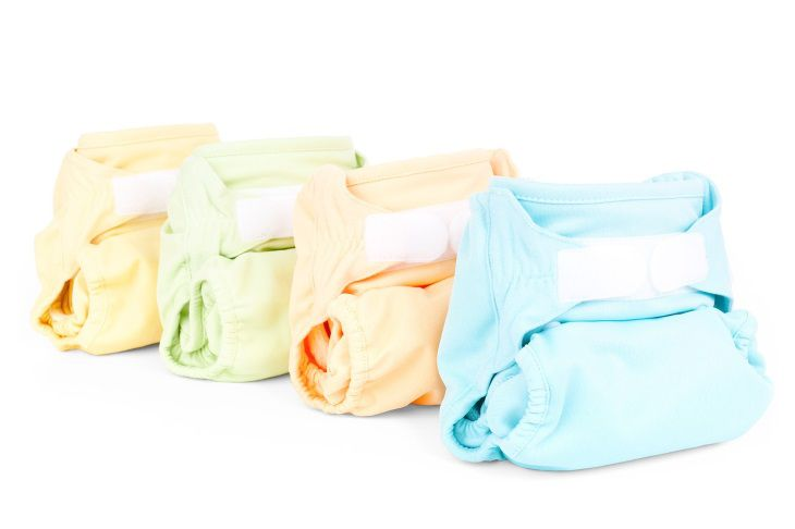 In the children's diapers found dangerous substances that can cause cancer.