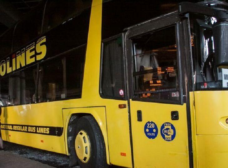 Автобус'Вильнюс – Минск перевернулся под Островцом