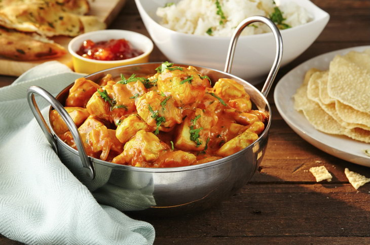 Chicken Curry Tomatoes