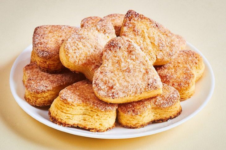 Cottage cheese biscuits