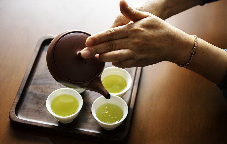 Зеленый чай для похудения. Помогает ли зеленый чай для похудения.