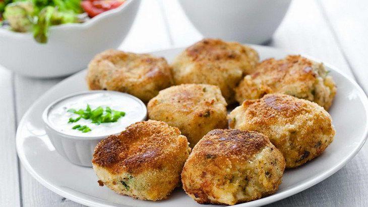 Potato Patties with Cheese