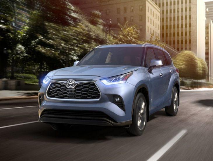 Toyota презентовала четвёртое поколение Highlander