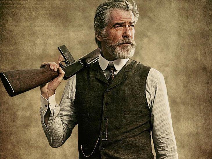 """""""Агент 007"""" для новой роли «поседел» и отпустил бороду"""