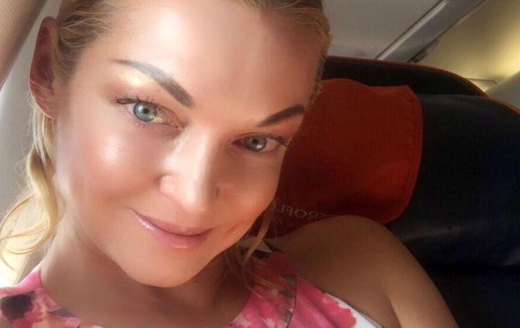 Волочкова стала пиарить Аэрофлот после трагедии в Шереметьево