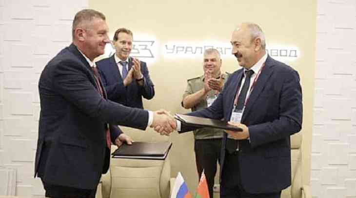 Россия модернизирует для Беларуси танки