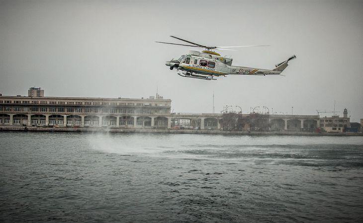 У берегов Италии в море рухнул вертолет с россиянами. Выживших нет