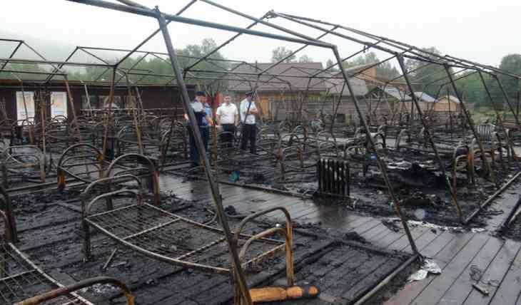 В палаточном лагере Холдоми где при пожаре заживо сгорели дети рассказали о травле сотрудников