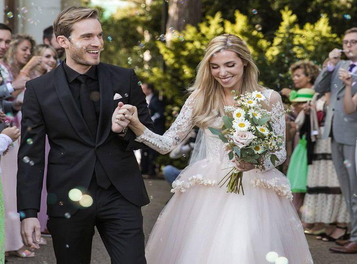 В Лондоне женился самый популярный видеоблогер планеты