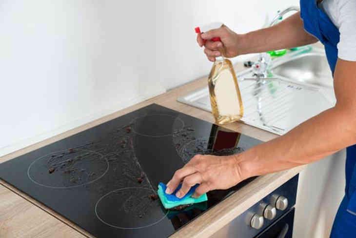 Как чистить стеклокерамическую поверхность? Как очистить электрическую стеклянную варочную поверхность? Как и чем очистить стеклокерамическую варочную панель