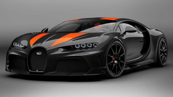 Самый быстрый Bugatti Chiron Super Sport 300+ стал серийным