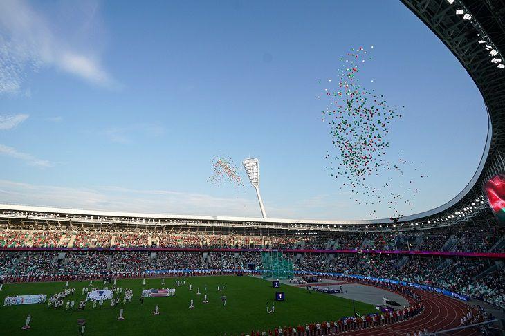 Команда Европы победила сборную США в легкоатлетическом матче в Минске. У белорусов – пять медалей